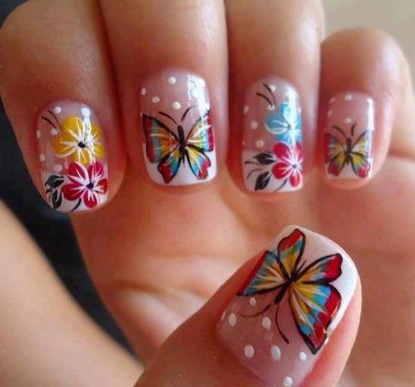 19-unhas-decoradas com-borboletas---5
