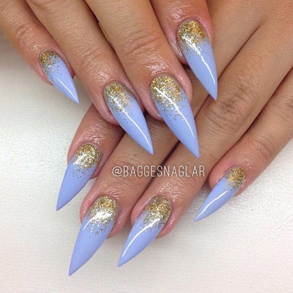 2-unhas-stiletto baggesnaglar