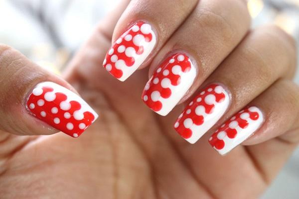 unhas-decorada-bolinhas-unhas-decoradas-com-bolinhas-nail-art-polka-dots-vermelha-branca-nailart-easy-nailart-polka-dots-red-voudeblush-unhas-decoradas-facil-blog