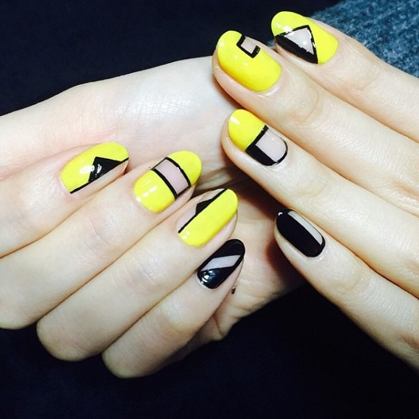 yellow-and-black-negative-space-nails-trend-bmodish