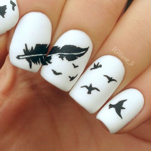 2-feather-nail-art