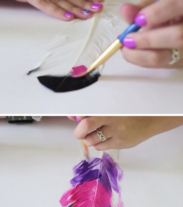 how-to-make-diy-painted-feathers-step-2